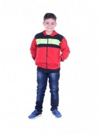MG Wears Regular Fleece Full Sleeve Kids Jacket Pack Of 1