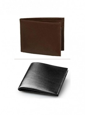 Jack Klein Pack of 2 Different Color Leather Wallet For Men