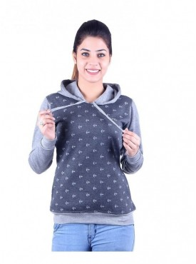 MG Wears Women Ancor Polyfleece Sweat Shirt