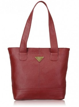 Fantosy Women Splash Maroon Handbag
