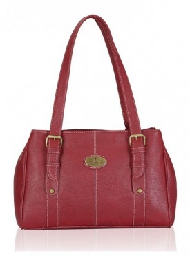 Fantosy London Maroon Women'S Handbag
