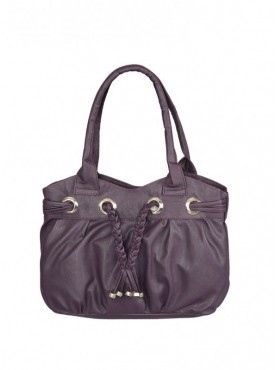 Fantosy Women Casual Purple Handbag