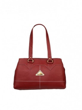 Fantosy Women Triangle Maroon Handbag