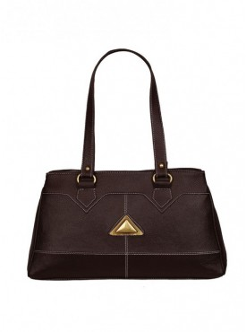 Fantosy Women Triangle Brown Handbag