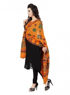 Bilochi's Women Kutch Work Cotton Dupatta