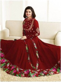Indian Style Vinay LLp Galaxy Georgette type sami-stitched salwar suit