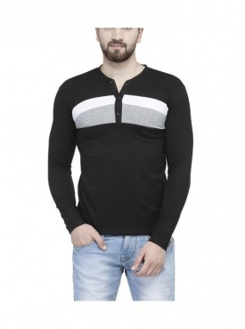 TSX Henley Full Sleeve Men's T-Shirt