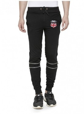 Tsx Men'S Cotton Trackpant With Vanity Zipper