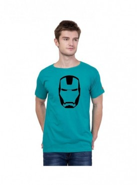 American-Elm Men Round Neck Stylish Iron Men Printed T-Shirt