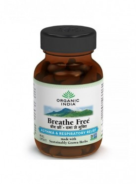Breathe Free 60 Capsules Bottle