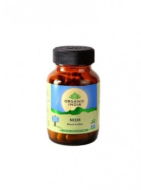 Neem 60 Capsules Bottle