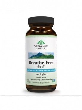 Breathe Free 250 Capsules Bottle