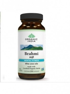 Brahmi 250 Capsules Bottle