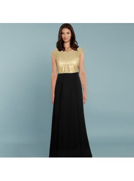Oro Lifestyle Exclusive Designer Black Gown