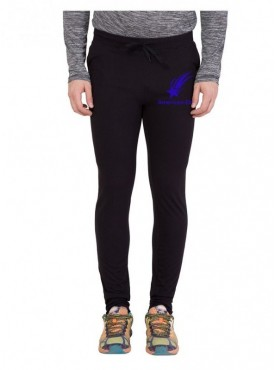 American-Elm Star Printed Trackpant for Light Workout for Men