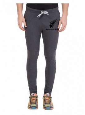American-Elm Men Star Printed Sports Wear Trackpant