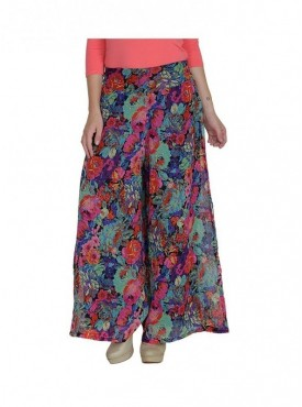 American-Elm Women Multi Coloured Printed Palazzo