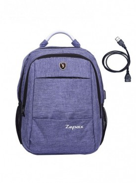 Zepax USB Charging Port Laptop Bag