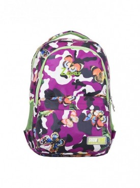 Zepax Printed School and Casual Backpack
