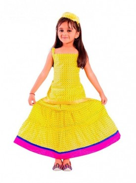 Decot Baby Girl Lehenga Choli