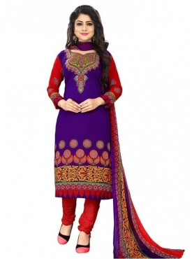 Viva N Diva Dark Purple leon salwar suit