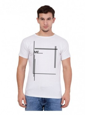American-Elm Men Box Printed T-Shirt