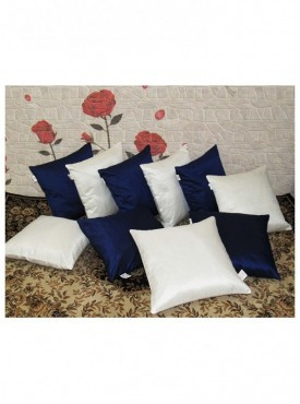 Zikrak Set of 10 Poly Dupion Cushion Covers