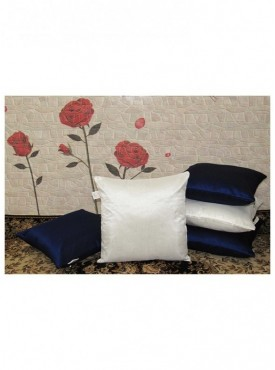 Zikrak Set of 5 Poly Dupion Cushion Covers