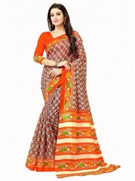 Gloryart Designer Multi Color Saree