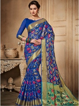 Sareemall Fashion Silk Designer saree