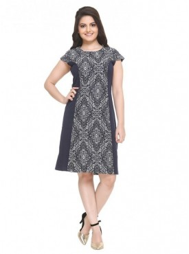 Hang & Hold Navy Color Dress