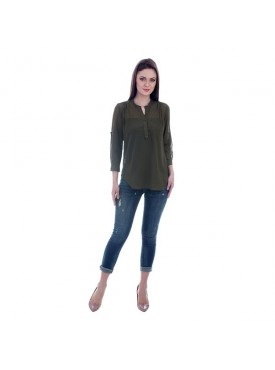 THE RUNNER Olive Shirt