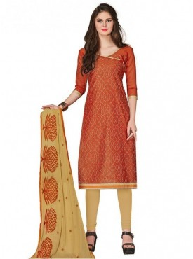 Viva N Diva Colored Chanderi Salwar Suit