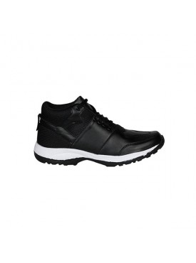 BACHINI Black Sole PVC Upper Material Synthatic Laceup For MENS Shoes
