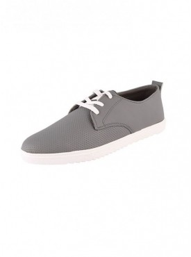 Brawo Grey Color Sole PVC Upper Material Synthatic MENS Canvas