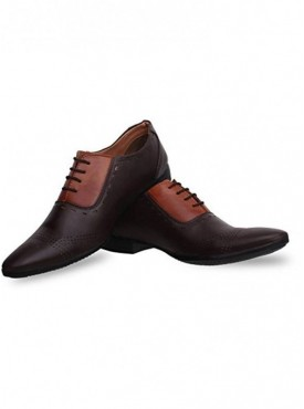 T-Rock Men's Stylish Party Wear Synthetic Formal Shoes