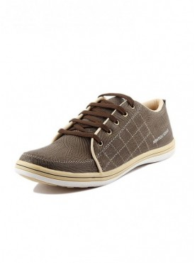 T-Rock Men's Brown Casual shoes