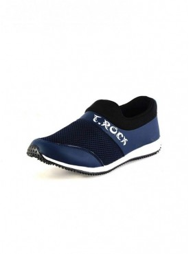 T-Rock Men's Blue Running Shoes