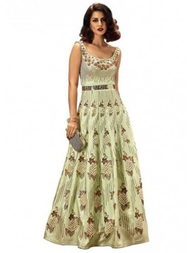 Khwaab Fusion Magic Mint Gown