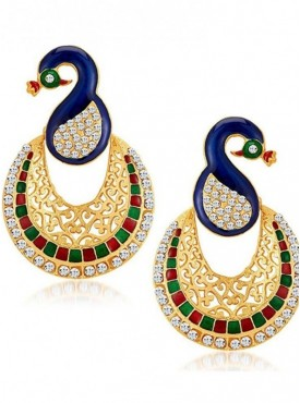 Roykals Textile Alloy Exclusive Imitation Jewellery-Earring Set