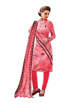 Viva N Diva Pink Colored Cambric Cotton Salwar Suit